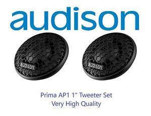 """Audison Prima AP1 1"""" 26mm Car Stereo Tweeter 150w Peak Power Pair"""