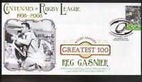 REG GASNIER St GEORGE RUGBYs GREATEST 100 COVER