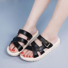 Lady Breathable Non-slip Flat Sandals Casual Cozy Platform Slipper Womens Shoes