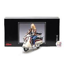 Schuco 1/10 Heinkel Roller Motorbike with Figurine - 450654400