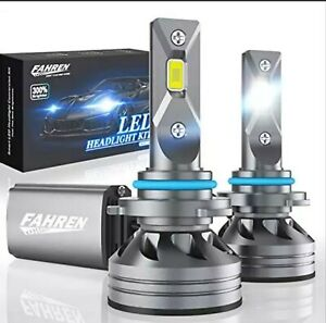 FAHREN 9005/HB3/H10 LED Headlight Bulbs, 60W 10000 Lumens Super Bright LED-New!