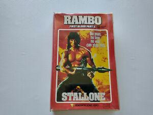 Rambo - First Blood Part II - ORIGINAL NOT EX RENTAL BIG BOX VHS VIDEO TAPE
