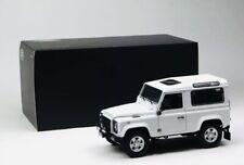 Land Rover Defender 90 White Kyosho 1/18 Us Seller !