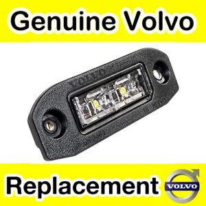 Genuine Volvo XC60 (09-17) Number Plate Light / Lamp / Lens