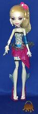 Monster High Doll Lagoona Blue Dot Dead Gorgeous w/Purse Loose Mattel