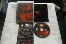 SIREN NEW TRANSLATION PS3 V.G.C. FAST POST ( import version plays in English )