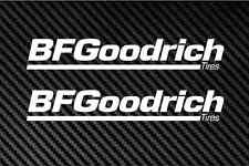"bf goodrich 2X 9"" tires wheels rims caps jdm trd car decal sticker stickers"