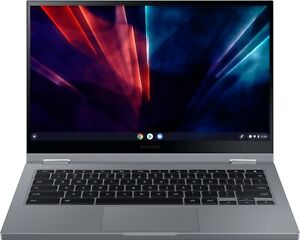 "NEW Samsung Galaxy Chromebook 2 Mercury Gray 13.3"" QLED Touch-Screen + Warranty!"