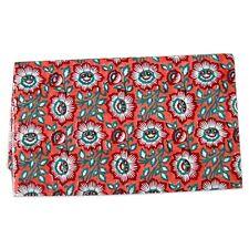 Crafts Sewing Natural Cotton Fabric Sanganeri Hand Block Printed 10 Yards IFFD4