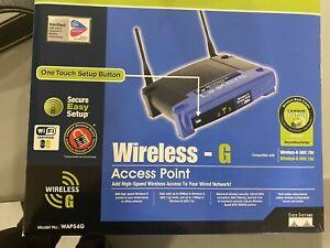 Linksys 2.4Ghz Wireless Access Point (Model: WAP54G)
