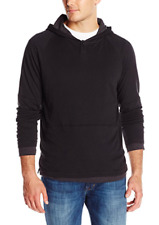 Kenneth Cole Men's Hooded Shirt XXL Black Brand New with Tags MSRP $69