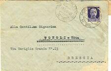 """G470-II WW.,P.M. 95 SU BUSTA, ITALIA PER BRESCIA, """" LUPI DI TOSCANA """",1940"""