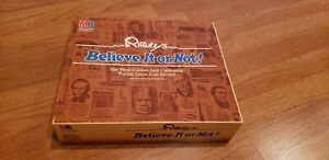 1984 Ripley's Believe It or Not!  Board Game by Milton Bradley COMPLETE  Vintage