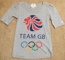 Adidas Stella McCartney Womans UK 8 Team GB Short Sleeve Olympics T-Shirt