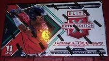 2016 Panini Elite Extra Edition Baseball Box 1 Pack 11 Cards 2 Auto 2 Mem + USA