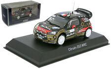 Norev Citroen DS3 WRC French Rally 2013 - Sebastien Loeb 1/43 Scale