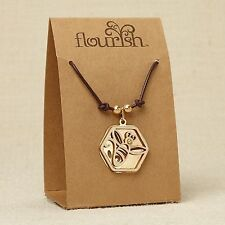 Bee Necklace ~ Flourish Jewelry Collection by Lauren Picciuna ~ 4044636