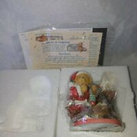Cherished Teddies~Santa Series~ Sanford Limited Edition NIB
