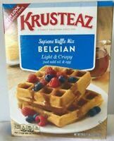 Krusteaz Vintage Supreme Belgian Waffles Mix Lot of 1 -28 oz Best By 3/5/2019