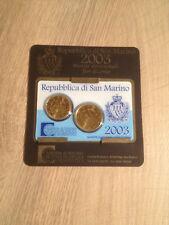SAINT-MARIN Minikit 2003 de 20 et 50 Cent