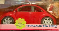 Barbie NEW Volkswagen Beetle NEW IN THE BOX 2000 RED