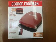 GEORGE FOREMAN 2 SERVING GRILL PANINI GR320FRC