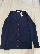 Hollister Brand New Navy Blue Cardigan Size XS