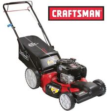 "Craftsman 7.25 163cc 21"" Gas Front Wheel Drive Self Propelled Lawn Mower High"