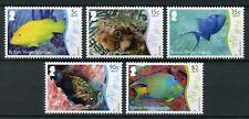 British Virgin Islands BVI 2017 MNH Underwater Life Pt 2 Fish Life 5v Set Stamps