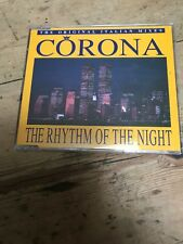 CORONA - THE RHYTHM OF THE NIGHT - Original Italian Mixes CD Single