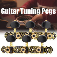 2Pcs Acoustic Classical Guitar Set Tuning Pegs Keys Machine Heads Tuners Parts