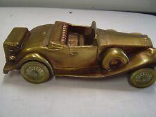 VINTAGE 1930 CADILLAC DIECAST CAR - COIN BANK