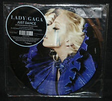 """Lady Gaga 'Just Dance' Limited Edition 7"""" Picture Disk (Sealed) 2008"""