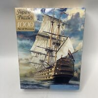 Ingooood Wooden Jigsaw Puzzle 1000 Pieces for Adult - Age of Discovery