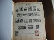 2 Scott 1936 Album Pages of Stamps Belgium 1931 Etc Rare icstamps Stamps1000-41