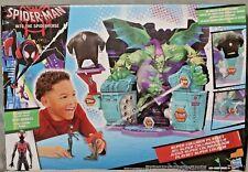 SPIDER-MAN Villain Battle SUPER COLLIDER Playset Miles Morales Action Figure NEW