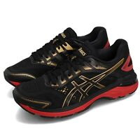 Asics GT-2000 7 Black Rich Gold Red Women Running Shoes Sneakers 1012A241-001
