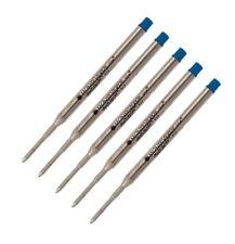 5 - Monteverde K Style Ballpoint Refills for SHEAFFER PEN - BLUE Medium