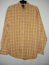 Men's TAILORBYRD Long Sleeve Cotton Multicolor Button Down Shirt M