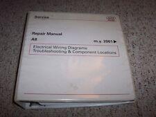 2001-2008 Audi A8 Electrical Wiring Diagram Manual 2002 2003 2004 2005 2006 2007
