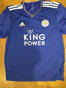 Leicester City Home Shirt (2018-19) Extra Large Made By ADIDAS