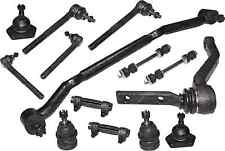 Front Suspension Ball Joint Upper Lower Kit Steering Tie Rods For Gmc Sonoma 2WD