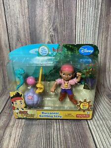 Buccaneer Battling Izzy Jake And The Never Land Pirates New Disney Fisher Price
