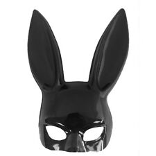 Long Ears Rabbit Bunny Mask Bondage Party Costume Cosplay Halloween Masquerade