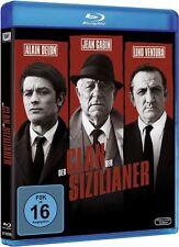 Blu-ray DER CLAN DER SIZILIANER # Jean Gabin, Alain Delon, Lino Ventura ++NEU