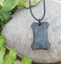 Gebo Rune Necklace Talisman Amulet Hand Forged Iron Norse jewelry pendant gift