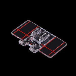 Clear Plastic Parallel Stitch Foot Presser For Home Domestic Sewing Machine  BQU