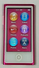 New listing Apple iPod nano 7th Generation Pink (16 Gb) Excellent Condition 90 Day Warranty