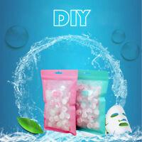 100pcs Compressed Cotton Facial Face Mask Sheet Paper DIY Natural Skin Care SL