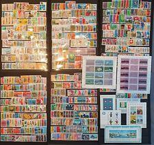Schweiz 1965-1989, Sammlung mit Blocke, Kleinbogen MNH postfrisch - siehe Foto